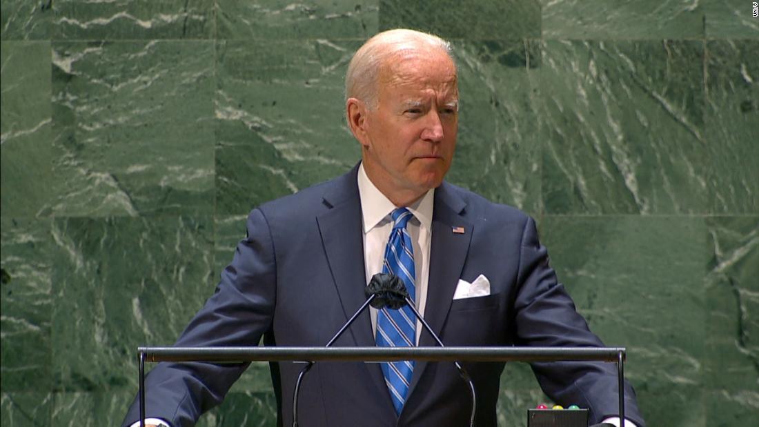 Biden: We are not seeking another Cold War