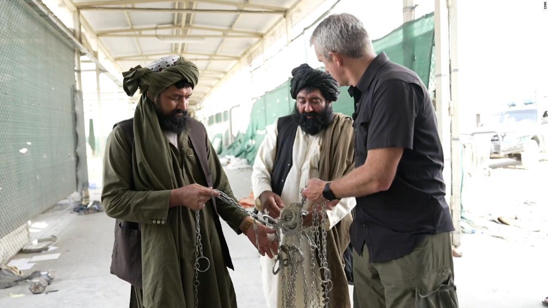 CNN goes inside Afghanistan's notorious prison in Bagram