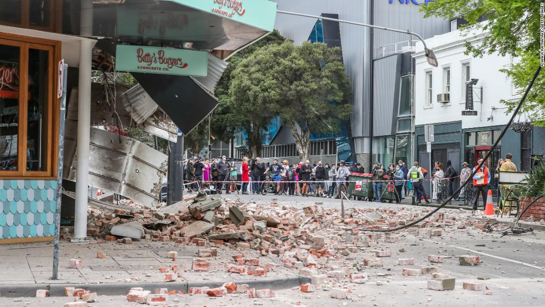 Magnitude 5.9 earthquake strikes near Melbourne, Australia