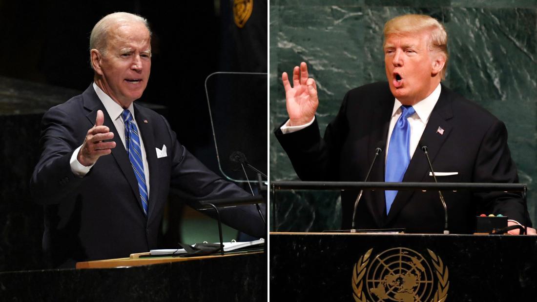 Trump put 'America first.' Hear how Biden's UN speech differed
