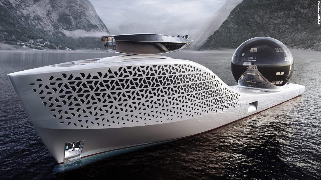 The nuclear megayacht designed to save the world