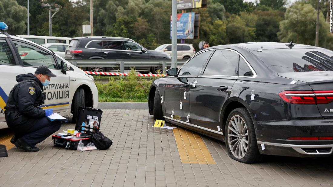Aide to Ukraine's president survives apparent assassination attempt