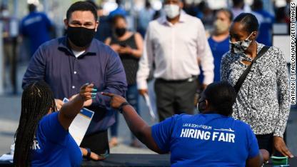 Employment Fair US Economy California 090921 FILE
