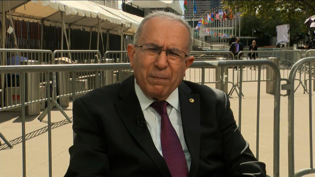 Algeria's Foreign Minister speaks out after cutting diplomatic ties with Morocco