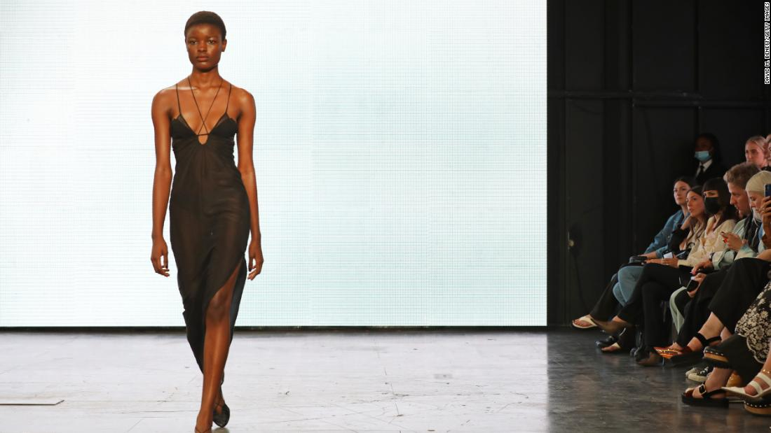 Highlights from London Fashion Week: Young design talent takes center stage