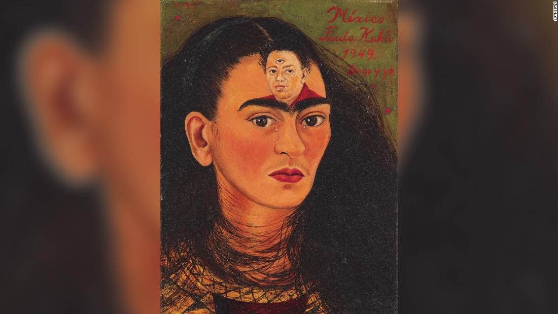 This emotive Frida Kahlo self-portrait is expected to sell for a record  million
