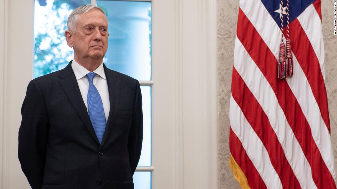 Former Defense Secretary James Mattis testifies in trial of Elizabeth Holmes