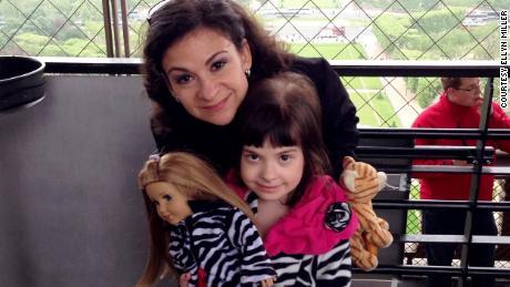 Ellyn Miller and daughter Gabriella