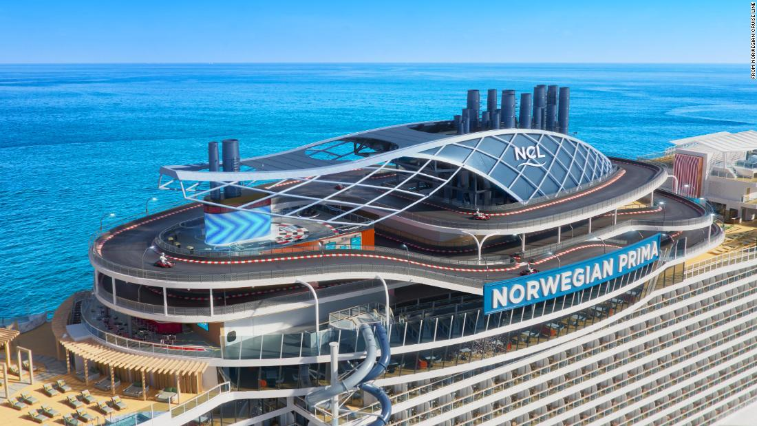 New cruise ship to feature world s first free