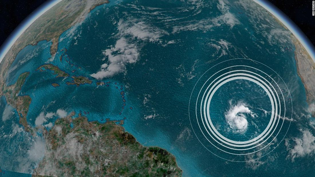 Tropical Storm Sam is the latest to form