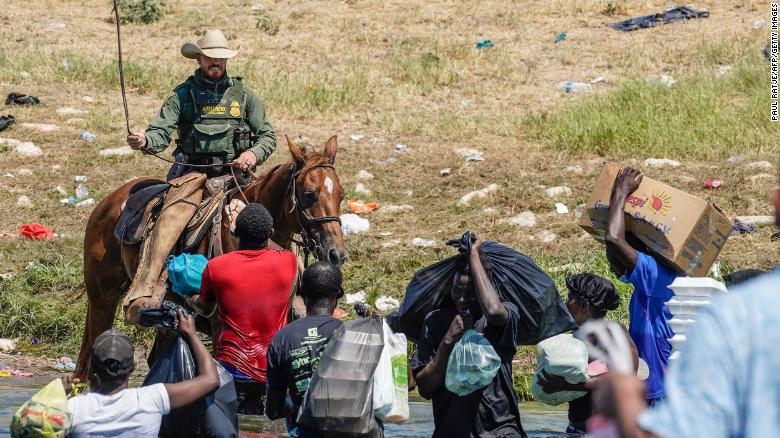 Biden harshly condemns horseback wrangling images from border: 'It's horrible what you saw'