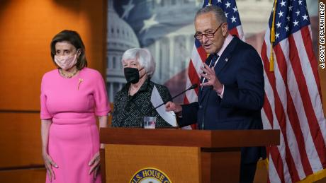 Democratic leaders tout 'framework' to pay for Biden plan, but lack of details makes clear more work is needed