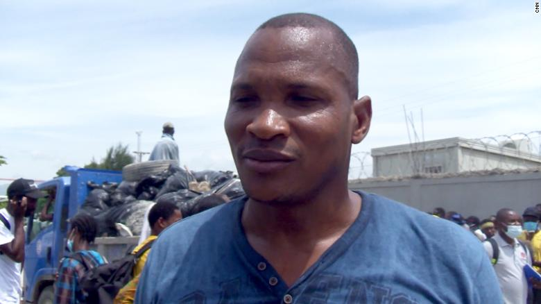 Haitian's monthlong odyssey to America leaves him right back where he started