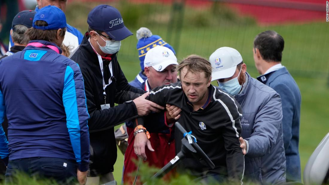 Harry Potter star collapses during celebrity golf match