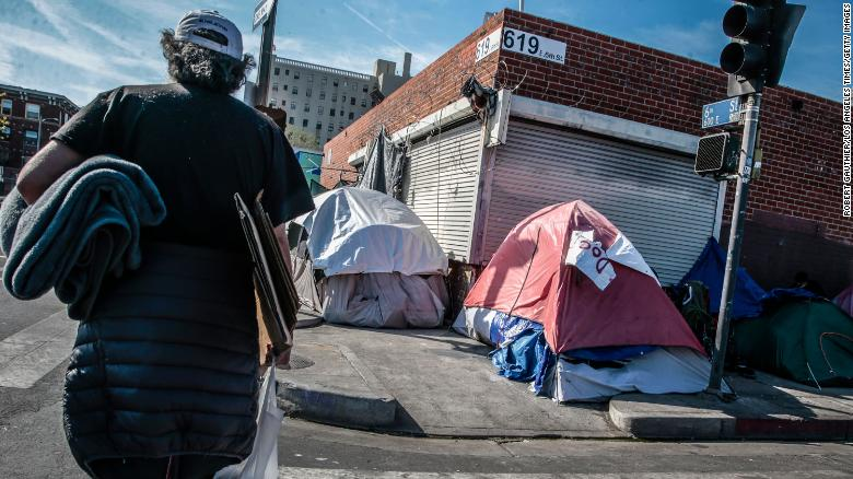 Appeals court rules Los Angeles not required to provide shelter for homeless people of Skid Row