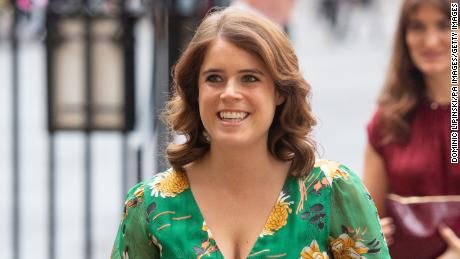 Princess Eugenie, pictured in 2019 at Westminster Abbey during a day on combating modern slavery.