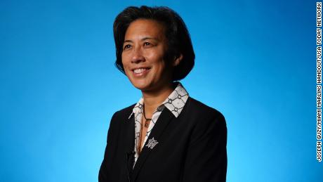 As the first woman general manager in the MLB, Kim Ng has said she hopes to show other women that they can pursue successful careers in pro baseball.