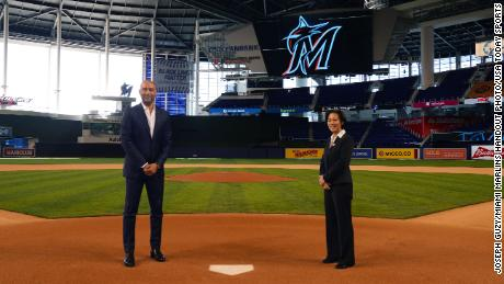 Miami Marlins CEO Derek Jeter says Kim Ng was his first and only call when his team needed a new general manager.