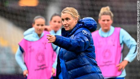 Emma Hayes has been manager of the Chelsea Women's team for nine years.
