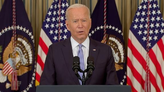 Image for Biden says scene at the southern border is 'horrible'