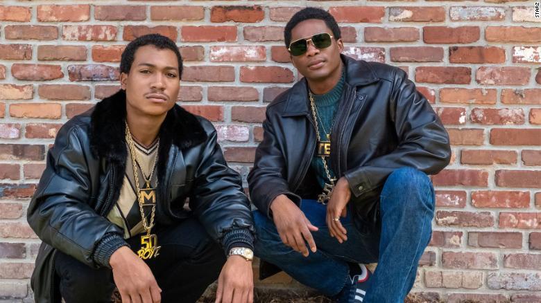 "Demetrius ""Lil Meech"" Flenory Jr. and Da'Vinchi star in ""BMF."""
