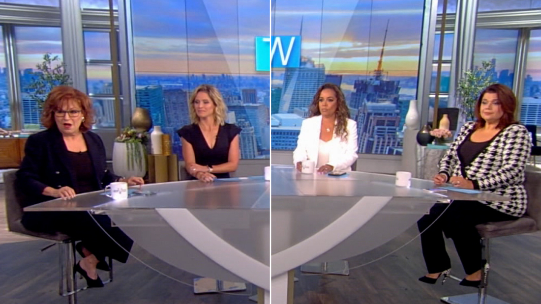 Image for 'The View'  hosts announce co-stars' breakthrough Covid cases before VP's planned interview