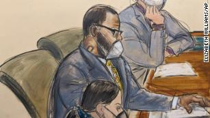 R. Kelly convicted of racketeering and sex trafficking by a federal jury in New York