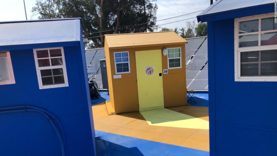 These tiny homes offer LA's homeless a new lease on life