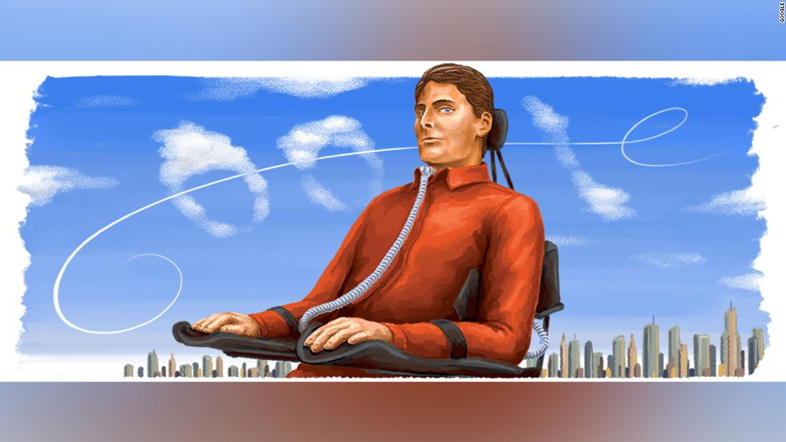 Google Doodle honors Christopher Reeve on 'Superman' actor's birthday
