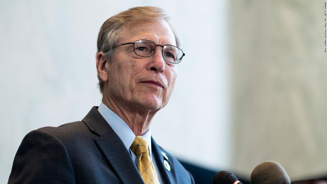 Texas Republican congressman Brian Babin says he tested positive for Covid-19