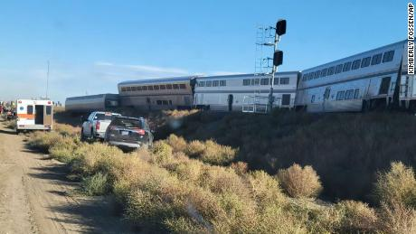 Amtrak train derails in remote Montana, killing at least 3 people