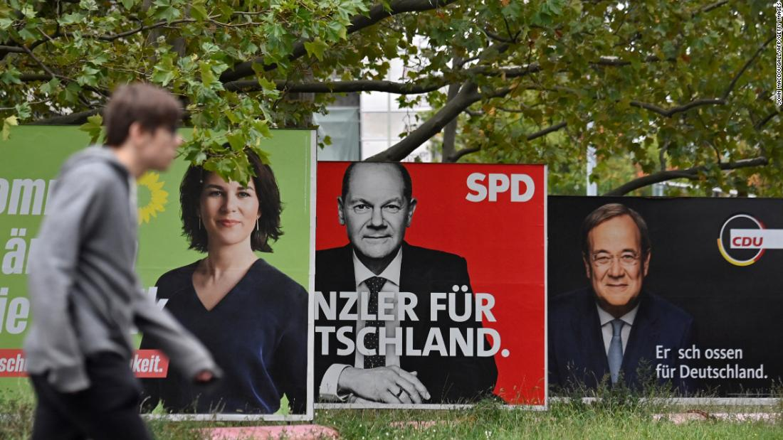 Germans vote in an unpredictable election that will decide who succeeds Angela Merkel, a stabilizing force in nearly 16 years at the helm.