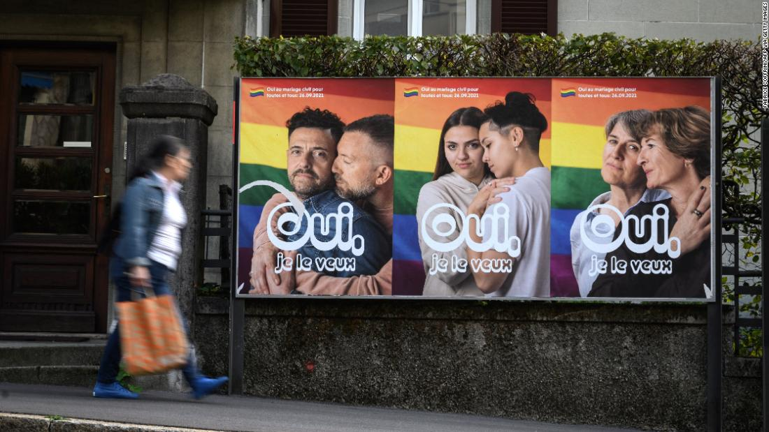Swiss appear set to back marriage equality in referendum - CNN