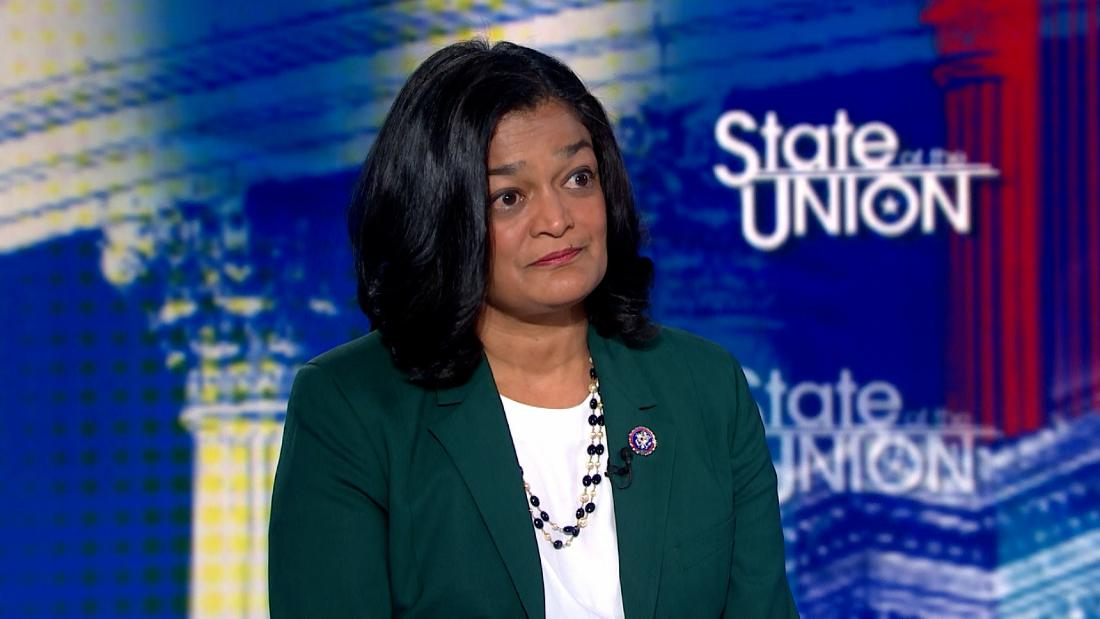 Rep. Jayapal recounts emotional Oval Office moment
