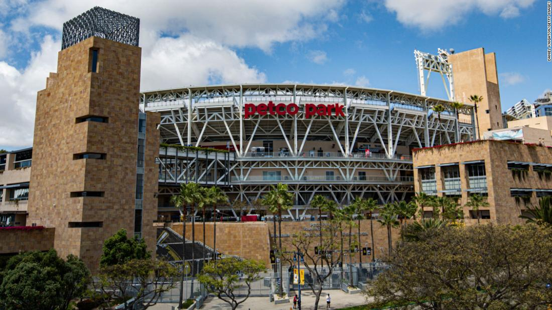 Mother and toddler fall to their deaths at baseball stadium, police say