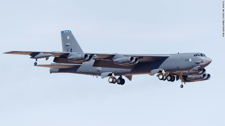 Russian fighter jets escorted US Air Force bomber after it reportedly approached Russian airspace