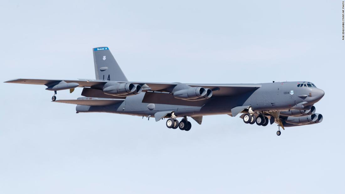 Russian jets escort US bomber after it reportedly approached Russian airspace