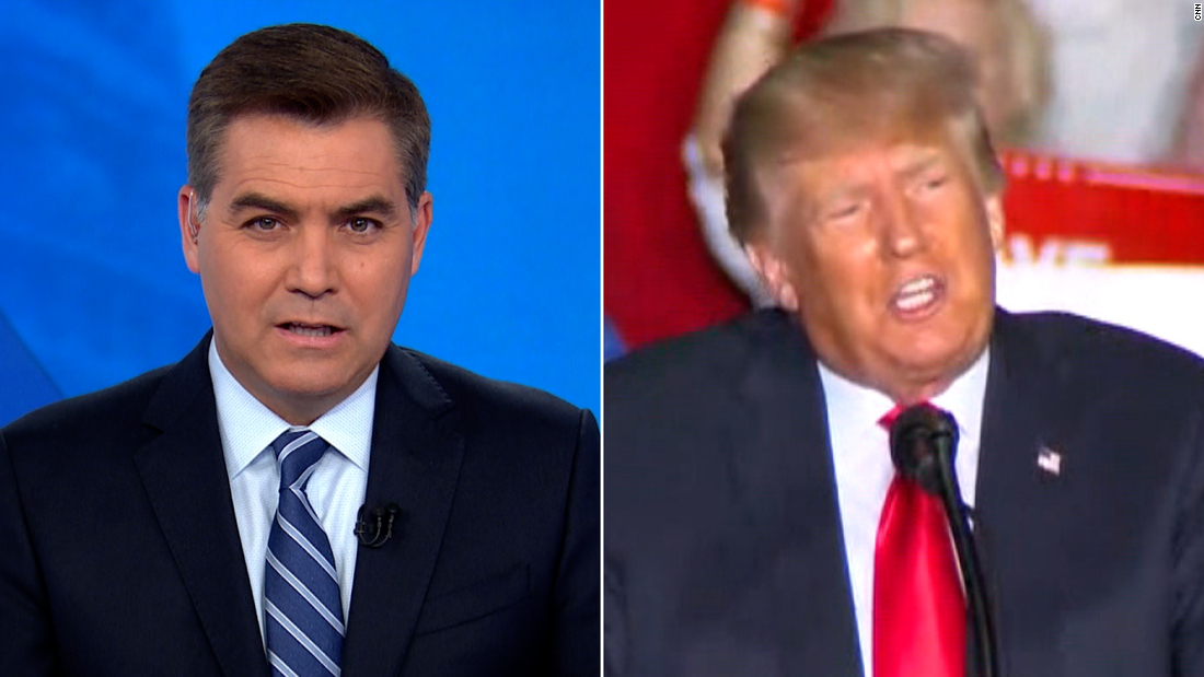 'Painful': Acosta rips Trump's lies at Georgia rally