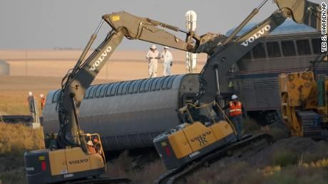 NTSB examines black box and video of Amtrak train to determine cause of derailment in Montana