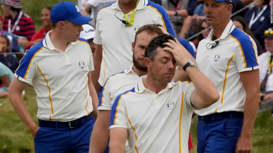 Tearful star 'should have done more' as Europe suffer record-breaking Ryder Cup defeat