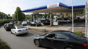 UK puts army on standby to deliver fuel as service stations run dry