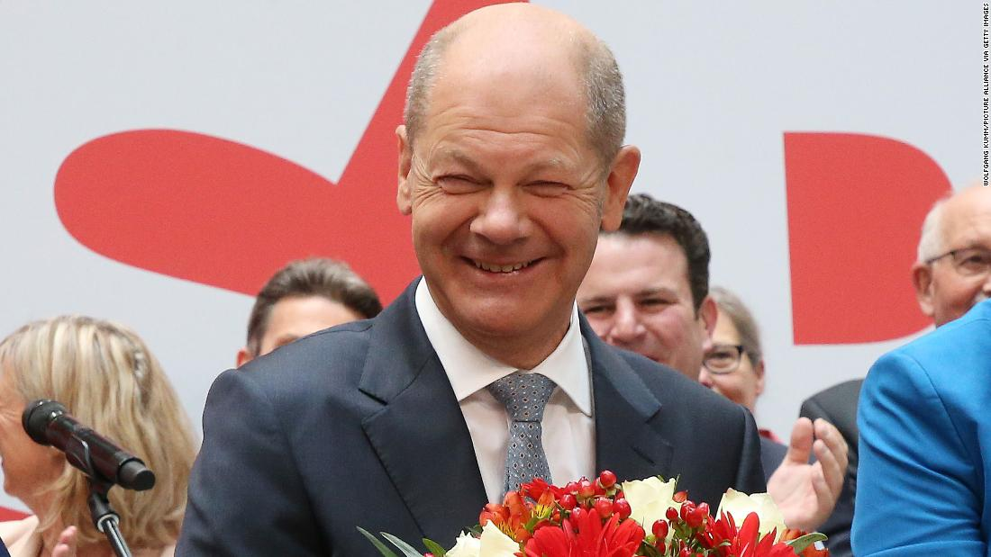 Meet Olaf Scholz, the man who might replace Angela Merkel as Germany's next chancellor - CNN