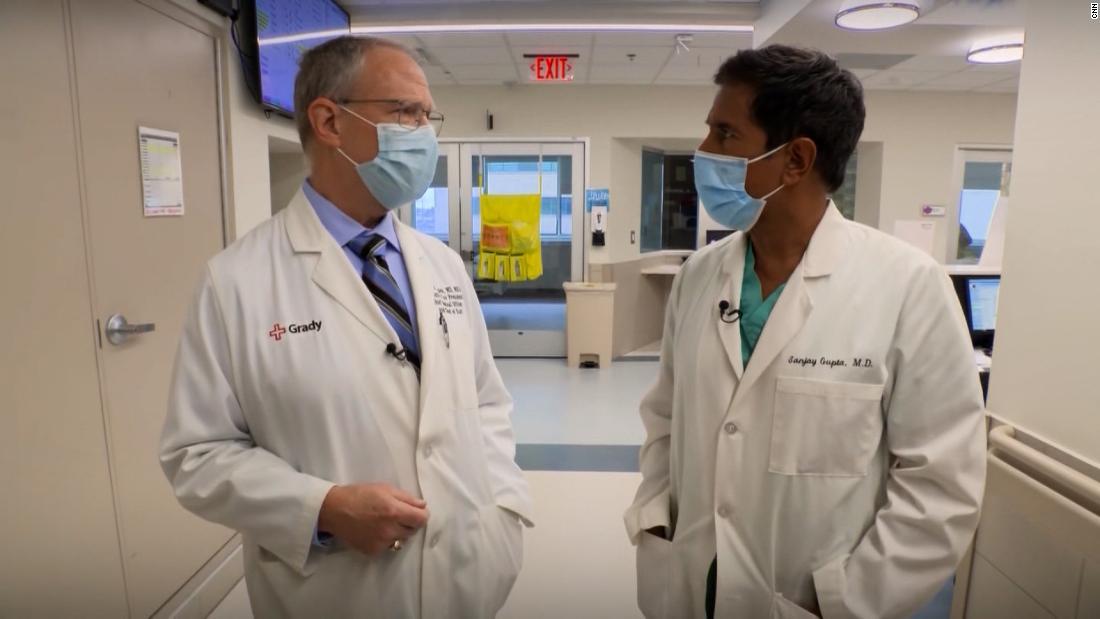 Dr. Gupta's hospital faces tough choices as Covid patients rise