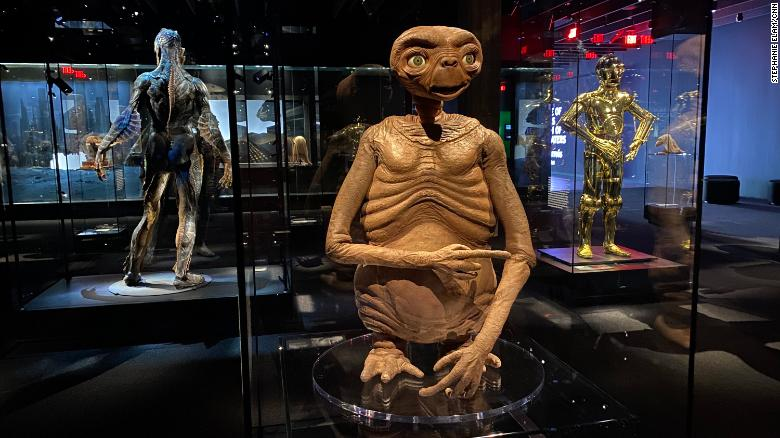"""E.T. from the 1982 film """"E.T. the Extra-Terrestrial"""""""
