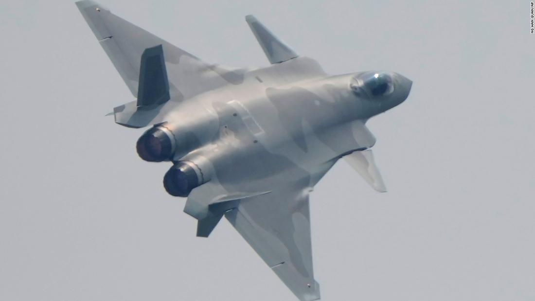 China has upgraded its best stealth fighter jet with domestic-made engines