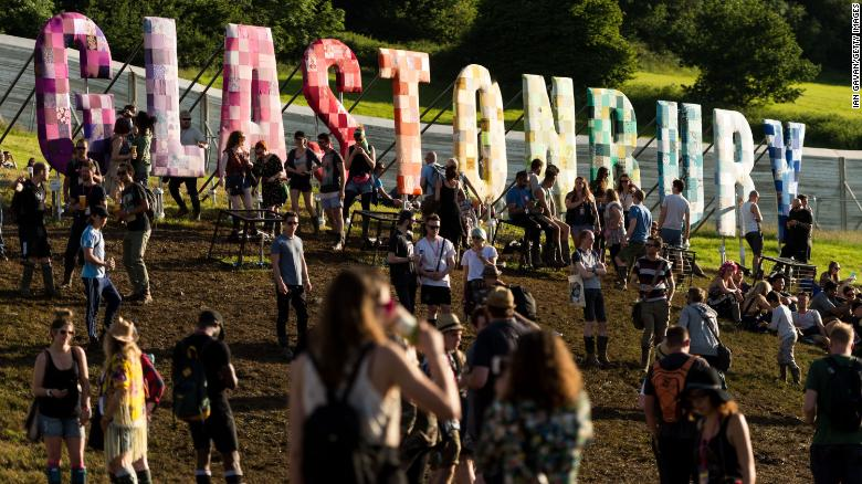 Public urination at Glastonbury Festival leaves traces of cocaine and MDMA in river, posing threat to rare eels