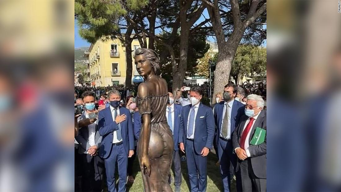'An offense to women': Scantily-clad statue sparks sexism debate in Italy