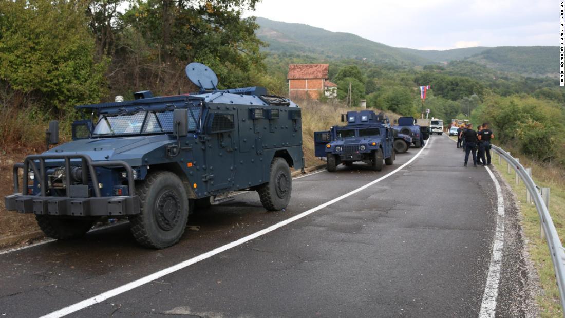 NATO increases patrols near Kosovo-Serbia border blockage