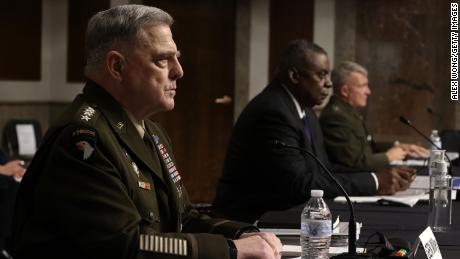 Milley defends Trump-era calls to Chinese counterpart in congressional Afghanistan hearing