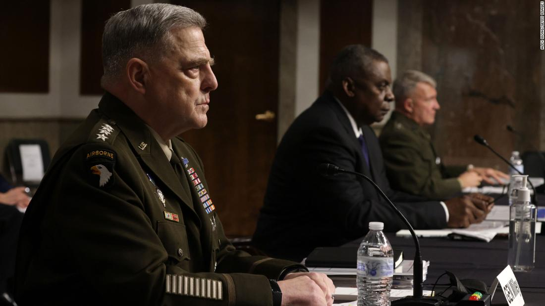 Top US General testifies Trump officials knew about China calls